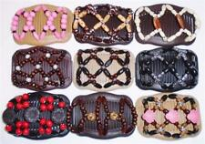 """Double Magic Hair Combs, Angel Wings Clips 4x3.5"""", African Butterfly,Quality S51"""