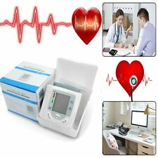 Automatic Digital LCD Display Wrist Blood Pressure Monitor Heart Beat Measure SQ