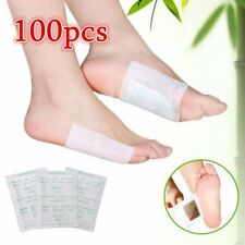 100 PCS Detox Foot Pads Patch Detoxify Toxins Fit Health Care Detox PadSQ
