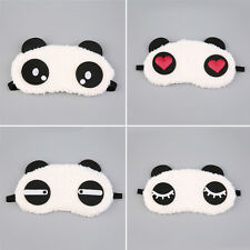 Cute Panda Sleeping Face Eye Mask Blindfold Shade Traveling Sleep Eye Aid    LN