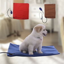 Pet Dog Cat Waterproof Heating Pad Heater Warmer Mat Bed Blanket LED Indicating