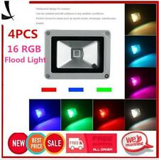Waterproof 10W RGB LED Outdoor 16 Color Changing Flood Spot light Garden Lamp LX