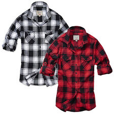 Brandit Ladies Shirt Amy Flannel Shirt Women's Blouse Top XS S M L XL NEW