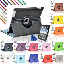 "Zeox 360 Rotating PU Leather Smart Case Cover Stand For Apple New iPad 9.7""/Air1"