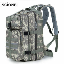 35L Men Women Military Army Backpack Trekking Camouflage Rucksack Molle Tactical