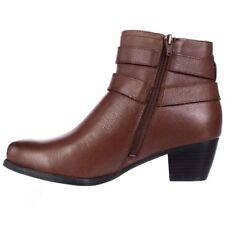 Naturalizer Womens Kepler Leather Closed Toe Ankle Fashion Boots