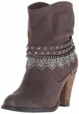 Not Rated Womens Lobsteria Closed Toe Ankle Fashion Boots