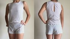 Women Summer Casual Sleeveless Playsuits Jumpsuit Rompers Party Shorts Long