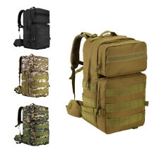 55L Tactical Backpack Rucksack Pack Bag for Camping Travel Hiking Mountaineering
