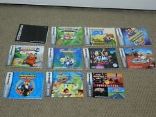 NICE SELECTION Game Boy Advance GBA Game Manual Booklet Instructions U Choose 1