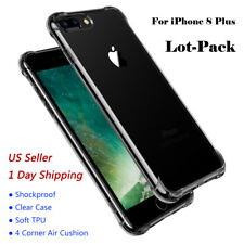 Wholesale Lot Hybrid TPU Shockproof Cover Clear Case For iPhone 6s/7/8 Plus 10/X
