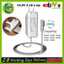 """AC Adapter Charger Cord for APPLE MACBOOK Air 11""""13"""" A1244 A1370 A1369 45W L-Tip"""