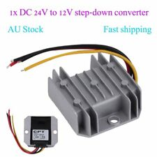 Waterproof DC/DC Voltage Converter Regulator 24V Step Down to 12V 5A Adaptor AU