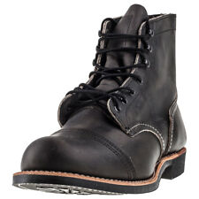 Red Wing Iron Ranger Mens Boots Charcoal New Shoes