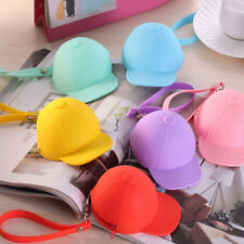 Women Cute Purse Hat Silicone Waterproof Wallet Pouch Coin Bag lovely gift KW