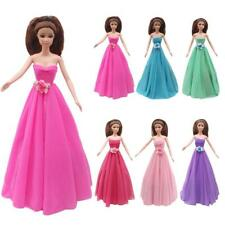 Fashion Princess Party Dress Party Gown Evening Clothes For Barbie Doll Dress up