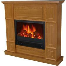 """Decor-Flame Electric Fireplace with 44"""" Mantle"""