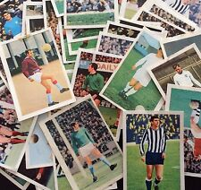 Football Swap Trading Cards Stickers 1970s   For Sticking Into Collector's Album