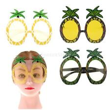 Funny Tropical Pineapple Sunglasses Hawaiian Beach Party Glasses Summer Beach