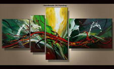 Framed Large Wall Art Handmade Canvas Modern Abstract Oil Painting Decor Abs181