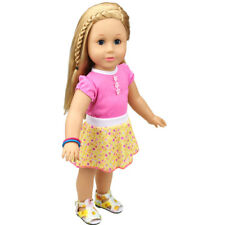 Girl Doll Clothes Dolls Clothes Woman Costume for 18 inch Doll Clothes