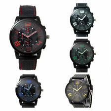 Stainless Steel Analog New Silicone Wrist Watch Casual Dial 1Pcs Quartz Sports