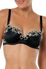 LISE CHARMEL Swinging Deco demi-cup bra black color