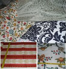 Red Green Beige Floral Damask Printed Upholstery Pillow Case Home Decor Fabric