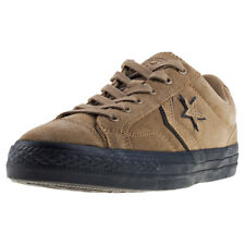 Converse Star Player Ox Mens Green Suede Casual Trainers Lace-up New Style