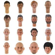 """1:6 Scale Famous Stars Head Sculpt Fit for 12"""" Male Action Figure Body Hot Toys"""