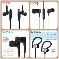 Wired Bluetooth 4.0 Earphone Stereo Headset Hands-free Sports Earbuds Lot MU