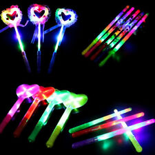 10 x  LED Flashing Sticks Light Stick Kids Light Up Toys Gift Glow Party