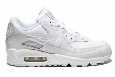 Nike Air Max 90 GS Leather All White 307793-111 new