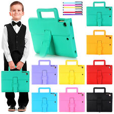 For iPad Mini/9.7 2017/Air 2 Kids Shockproof Carrying EVA Foam Stand Case Cover