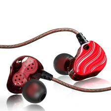 High Resolution Heavy Bass In-ear Headphones Dual Dynamic Drivers For SmartPhone