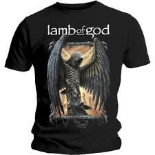 OFFICIAL LICENSED - LAMB OF GOD - WINGED DEATH T SHIRT METAL