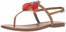 Jessica Simpson Womens Kyran Leather Open Toe Casual Slingback Sandals