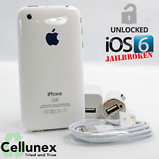 Unlocked Apple iPhone 3GS - Worldwide GSM - Jailbroken 6.1.6 Cydia - Collectible