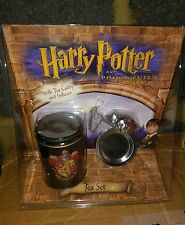 RARE HARRY POTTER AND THE PHILOSOPHERS STONE TEA SET WITH FROG INFUSER MIB