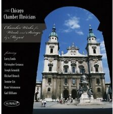 W.A. Mozart - Chamber Works For Win (CD Used Like New) Chicago Chamber Musicians