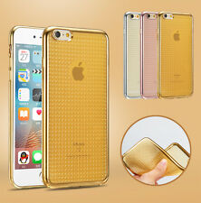 Bling Glitter ShockProof Silicone Soft Case TPU Cover For Apple iPhone 6 6S Plus