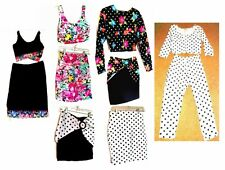 Stretch Skirt Sets & Pants Sets Polka Dots & Florals by Jealousy/Rave Jrs Large