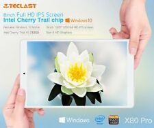 "Teclast X80 Pro Tablet PC 8"" Win 10 + Android 5.1 Quad Core 2+32G WiFi BT 4.0 LN"
