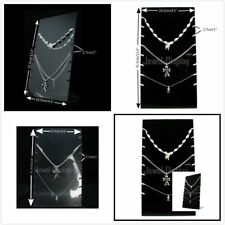 1 or 2 New Acrylic Slab Board Jewelry Shop Display Necklace Pendant Holder Stand
