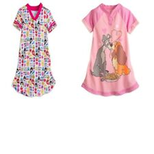 LOT OF 2 NWT DISNEY STORE GIRLS NIGHTSHIRT LADY AND THE TRAMP PRINCESS SIZE 4