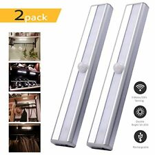Closet Light Cupboard Motion Sensor Rechargeable under Cabinet Counter Stairs 10