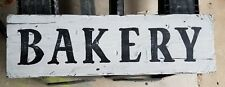 Handmade Bakery Wood Sign Farmhouse Fixer Upper Shabby Chic Rustic 7 x 24