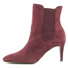 LAUREN by Ralph Lauren Womens Pashia Suede Closed Toe Ankle Fashion Boots