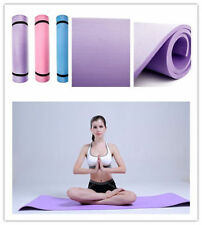"Yoga 6mm Thick Non-Slip Yoga Mat Exercise Fitness Lose Weight 68""x24""x0.24"" DR"
