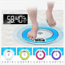 Electronic Digital Bathroom Body Scale Weight Control Health Scale Glass 180kgDR